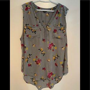 Torrid Harper Size 2 blouse